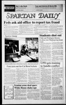 Spartan Daily, November 26, 1986 by San Jose State University, School of Journalism and Mass Communications