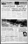 Spartan Daily, January 26, 1987 by San Jose State University, School of Journalism and Mass Communications