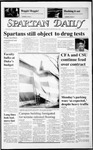 Spartan Daily, January 28, 1987 by San Jose State University, School of Journalism and Mass Communications
