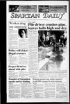 Spartan Daily, January 29, 1987 by San Jose State University, School of Journalism and Mass Communications
