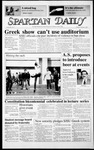 Spartan Daily, February 3, 1987 by San Jose State University, School of Journalism and Mass Communications