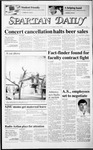 Spartan Daily, February 4, 1987 by San Jose State University, School of Journalism and Mass Communications