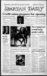 Spartan Daily, February 27, 1987 by San Jose State University, School of Journalism and Mass Communications