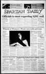 Spartan Daily, March 5, 1987 by San Jose State University, School of Journalism and Mass Communications