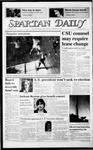 Spartan Daily, March 6, 1987 by San Jose State University, School of Journalism and Mass Communications