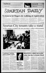Spartan Daily, March 13, 1987 by San Jose State University, School of Journalism and Mass Communications