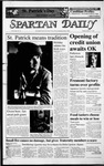 Spartan Daily, March 17, 1987 by San Jose State University, School of Journalism and Mass Communications