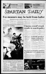 Spartan Daily, March 19, 1987 by San Jose State University, School of Journalism and Mass Communications
