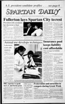 Spartan Daily, March 23, 1987 by San Jose State University, School of Journalism and Mass Communications