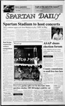 Spartan Daily, March 25, 1987 by San Jose State University, School of Journalism and Mass Communications