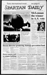 Spartan Daily, March 27, 1987 by San Jose State University, School of Journalism and Mass Communications
