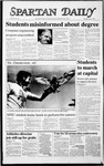 Spartan Daily, April 2, 1987 by San Jose State University, School of Journalism and Mass Communications