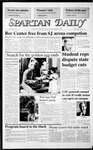 Spartan Daily, April 8, 1987 by San Jose State University, School of Journalism and Mass Communications