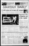 Spartan Daily, April 23, 1987 by San Jose State University, School of Journalism and Mass Communications