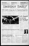 Spartan Daily, April 29, 1987 by San Jose State University, School of Journalism and Mass Communications