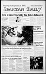 Spartan Daily, April 30, 1987 by San Jose State University, School of Journalism and Mass Communications