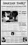 Spartan Daily, May 5, 1987