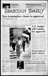 Spartan Daily, May 8, 1987 by San Jose State University, School of Journalism and Mass Communications