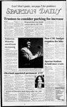 Spartan Daily, August 27, 1987 by San Jose State University, School of Journalism and Mass Communications