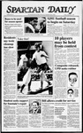 Spartan Daily, September 4, 1987 by San Jose State University, School of Journalism and Mass Communications