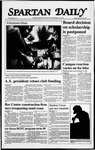 Spartan Daily, September 18, 1987 by San Jose State University, School of Journalism and Mass Communications
