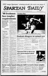 Spartan Daily, September 21, 1987 by San Jose State University, School of Journalism and Mass Communications