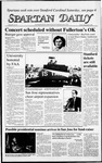 Spartan Daily, September 25, 1987 by San Jose State University, School of Journalism and Mass Communications