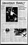 Spartan Daily, October 20, 1987 by San Jose State University, School of Journalism and Mass Communications