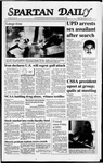 Spartan Daily, October 21, 1987 by San Jose State University, School of Journalism and Mass Communications