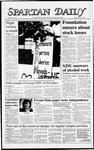 Spartan Daily, October 26, 1987 by San Jose State University, School of Journalism and Mass Communications