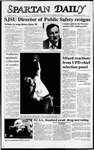Spartan Daily, October 27, 1987 by San Jose State University, School of Journalism and Mass Communications