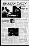 Spartan Daily, October 30, 1987 by San Jose State University, School of Journalism and Mass Communications