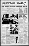 Spartan Daily, November 3, 1987 by San Jose State University, School of Journalism and Mass Communications
