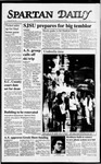 Spartan Daily, November 6, 1987 by San Jose State University, School of Journalism and Mass Communications
