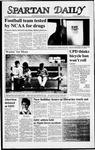 Spartan Daily, December 1, 1987 by San Jose State University, School of Journalism and Mass Communications