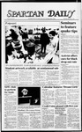 Spartan Daily, December 3, 1987 by San Jose State University, School of Journalism and Mass Communications