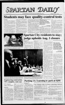 Spartan Daily, February 1, 1988 by San Jose State University, School of Journalism and Mass Communications