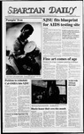 Spartan Daily, February 9, 1988 by San Jose State University, School of Journalism and Mass Communications