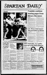 Spartan Daily, February 11, 1988 by San Jose State University, School of Journalism and Mass Communications
