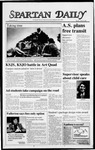 Spartan Daily, April 18, 1988 by San Jose State University, School of Journalism and Mass Communications