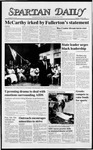 Spartan Daily, April 19, 1988 by San Jose State University, School of Journalism and Mass Communications