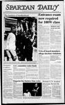 Spartan Daily, April 22, 1988 by San Jose State University, School of Journalism and Mass Communications