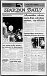 Spartan Daily, April 28, 1988 by San Jose State University, School of Journalism and Mass Communications