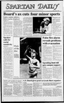 Spartan Daily, May 13, 1988 by San Jose State University, School of Journalism and Mass Communications