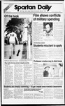 Spartan Daily, September 12, 1988 by San Jose State University, School of Journalism and Mass Communications