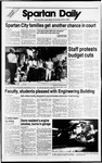 Spartan Daily, September 15, 1988 by San Jose State University, School of Journalism and Mass Communications