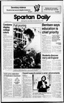 Spartan Daily, September 23, 1988 by San Jose State University, School of Journalism and Mass Communications