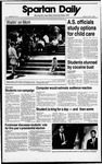 Spartan Daily, October 3, 1988 by San Jose State University, School of Journalism and Mass Communications