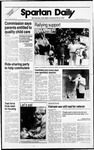 Spartan Daily, October 6, 1988 by San Jose State University, School of Journalism and Mass Communications