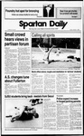 Spartan Daily, October 7, 1988 by San Jose State University, School of Journalism and Mass Communications